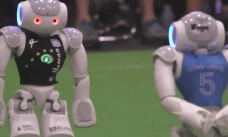 Meet the new contenders in the 2050 World Cup - robots