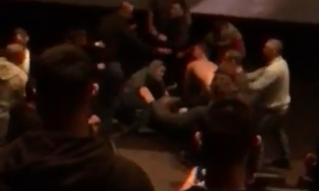 Mass brawl breaks out at Mayweather-McGregor cinema screening