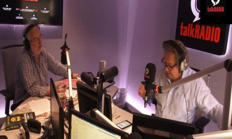 Mike Parry wasn't impressed with Mike Graham's holiday gift