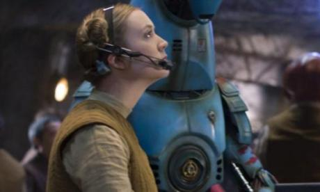 Billie Lourd has revealed she almost followed in her mother's footsteps and played the female lead in Star Wars