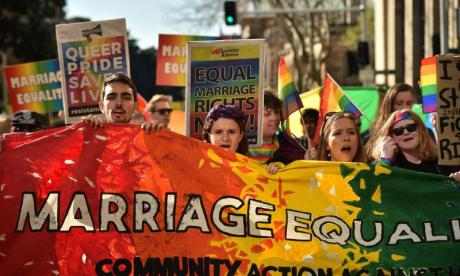 Rees-Mogg has come under fire for his views on gay marriage