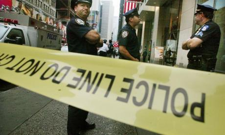 Police in New York shoot man armed with a toy gun