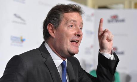 Piers Morgan tells former L'Oreal model her comments are 'very offensive' in heated row