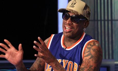 Basketball star Dennis Rodman reveals he's sang karaoke with Kim Jong-un