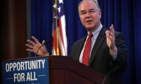 US politician Tom Price chartered five private jets in one week to travel on business, despite being critical of them before