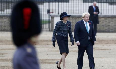 Theresa May and Boris Johnson to meet in New York to discuss Brexit article