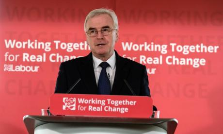 John McDonnell: 'He's saying there's a run of the pound risk and he'll plan for it', says leading economics professor