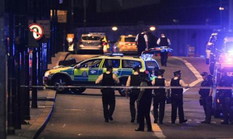 Police use steel spikes and nets in attempt to prevent vehicle terrorist attacks