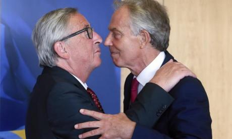 'Tony Blair's moving into openly treasonous territory with Jean-Claude Juncker meeting', says George Galloway