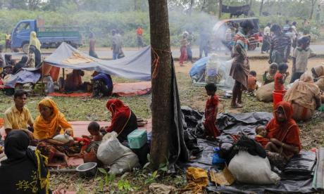 Boat carrying Rohingya Muslims capsizes leaving five dead