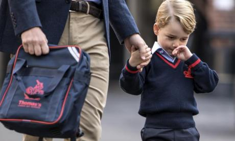 Prince George to return to school following suspected break-in