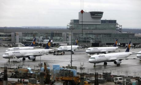 'Tear gas attack' at Frankfurt airport leaves six injured