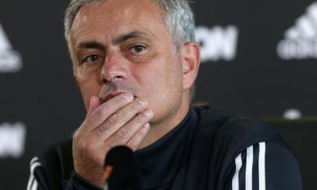 Jose Mourinho risked the wrath of Manchester United fans with his Liverpool pic
