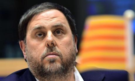 Oriol Junqueras was arrested by officers from the Guardia Civil