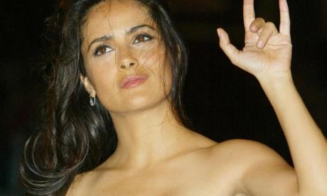 Salma Hayek has become a noted political activist in recent years