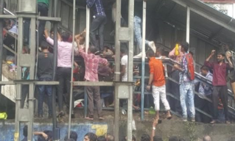 Dozens killed in stampede near Elphinstone Station in Mumbai