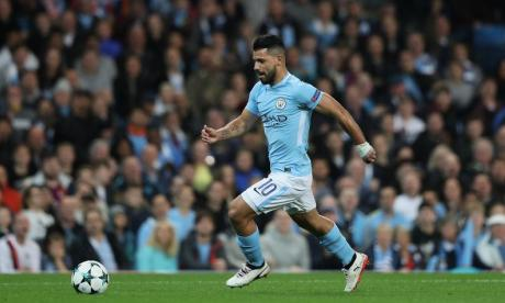 Manchester United fans have proved football is only a game with their messages of support for Sergio Aguero