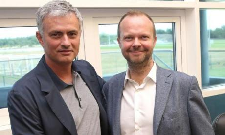 Woodward was appointed to the top job at Old Trafford four years ago