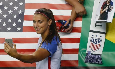 Alex Morgan was allegedly involved in an incident at a bar