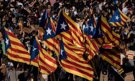 Catalonia voted for independence by an overwhelming margin on Sunday, but turnout was low