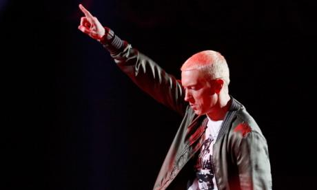 Eminem rips into Donald Trump with freestyle rap during awards ceremony