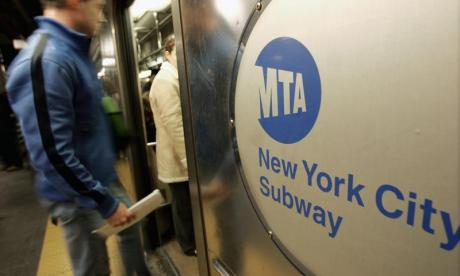 Man arrested after 'assaulting plain clothes police officer on New York subway'