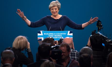 Theresa May's calamitous Conservative Party Conference speech - condensed into 22 seconds