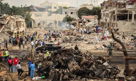 Somalia: More than 200 killed in Mogadishu bombing