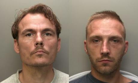 Danny Keet (left) and Wayne Melton have been sentenced to a combined 13 years in jail