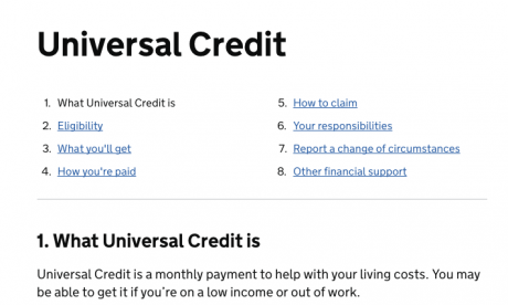 Universal Credit: Benefits scheme Architect explains rationale behind six-week wait for first payment