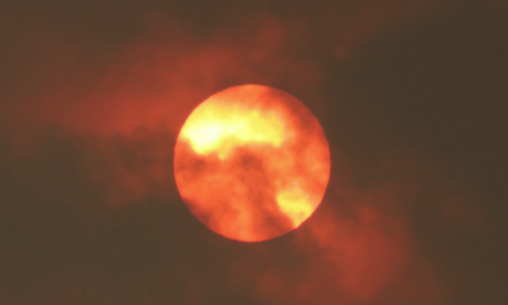 Twitter reacts to #redsun as Storm Ophelia causes weather phenomenon
