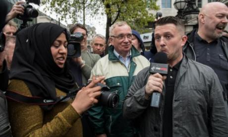 Tommy Robinson had been due to address an audience of Republicans in New York