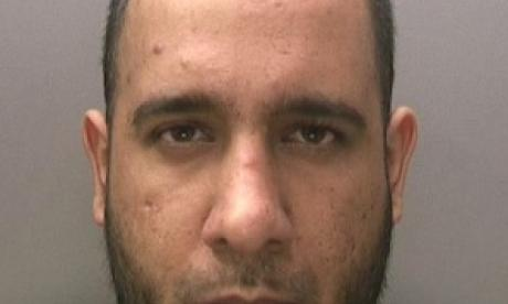 Zahid Hussain had been studying bomb-making techniques on the internet (West Midlands Police)