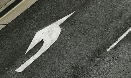 Man fined for painting extra road markings to make his commute faster