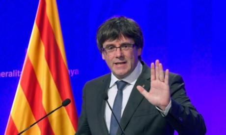Carles Puigdemont fled to Belgium just days after declaring independence for Catalonia