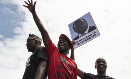 Emmerson Mnangagwa has been linked to massacres which killed throusands in the 1980s