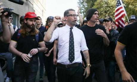 Initiations, tattoos and a ban on women - Who are the Proud Boys?