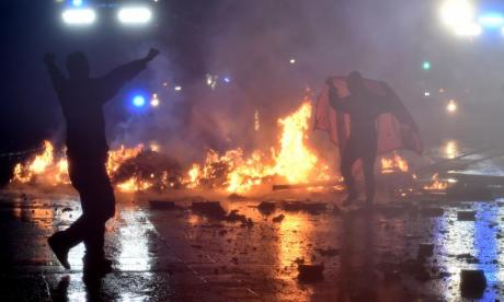 'Police used banned weapons' during G20 riots in Hamburg