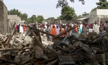 Teenage suicide bomber kills at least 50 in Nigerian mosque