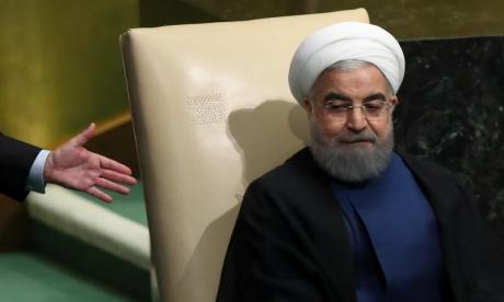 Hassan Rouhani proclaims the end of Isis in live TV declaration
