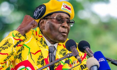 'It's long past time for Robert Mugabe to demit office', says George Galloway