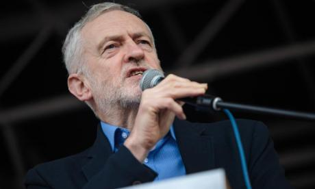 Corbyn described Donald Trump as a threat to world peace