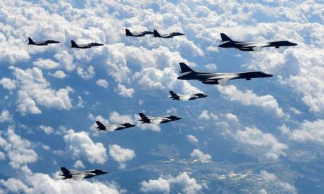 US and South Korea kick off five day training drill