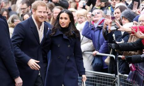 Prince Harry and Meghan Markle attended the Terrance Higgins Trust World AIDS Day charity fair