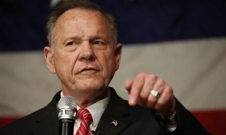 Republican Senate candidate Roy Moore refuses to concede vote after Democrat Doug Jones wins