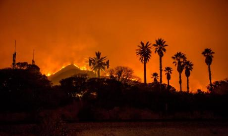 Wildfires are raging through California