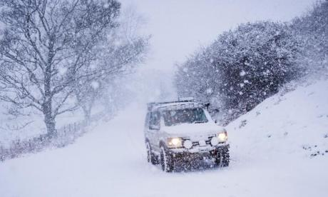 UK braced for more disruption with planned snowfall from Storm Caroline