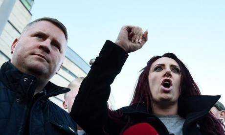 Twitter: 'Britain First can still say what it wants in public, social media is a ludicrous pantomime', says Mike Graham