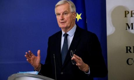 Michel Barnier rules out special arrangement for city firms to trade freely in EU