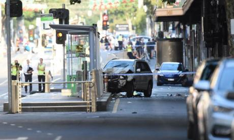 Police say crash in Australia was deliberate act